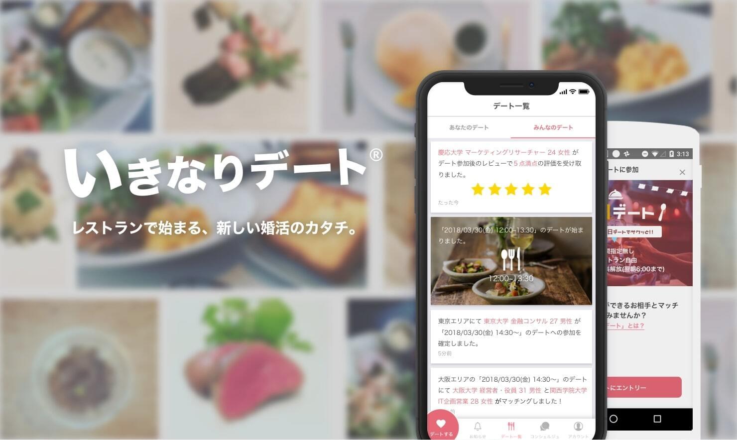 いきなりデートのアプリ画像